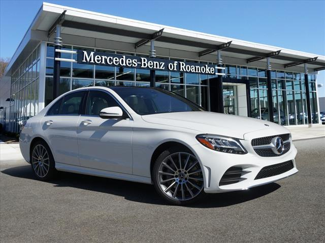 New 2019 Mercedes-Benz C-Class C 300 All-wheel Drive 4MATIC® Sedan