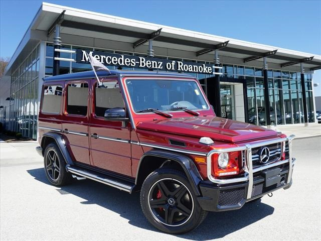 Certified Pre-Owned 2016 Mercedes-Benz G-Class AMG® G 63 SUV
